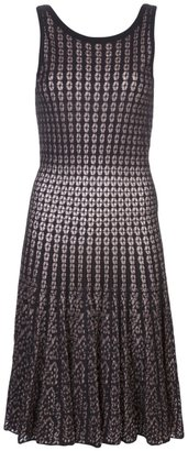 Alaia two-toned sleeveless dress