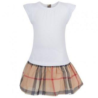 Burberry Nova Check Tee Dress