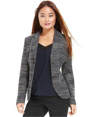 Bar III Jacket, Textured Jacquard Blazer