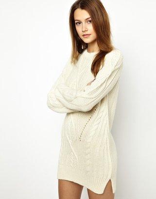 Vanessa Bruno Jumper Dress in Alpaca Wool