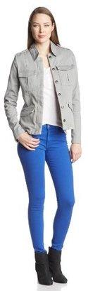 Joe's Jeans Women's Vail Military Peplum Jacket