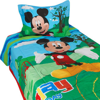Jay Franco & Sons Inc Disney Mickey Mouse Clubhouse Twin Comforter Set