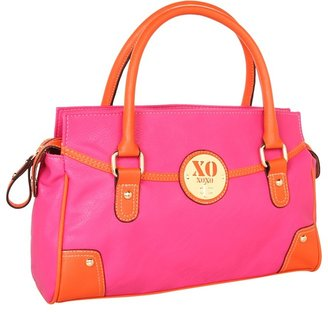 XOXO Moon Beam Satchel (Fuchsia/Orange) - Bags and Luggage