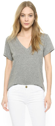 Current/Elliott The V Neck Tee $78 thestylecure.com