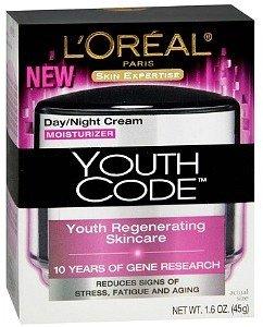 L'Oreal Youth Code Day/Night Cream Moisturizer