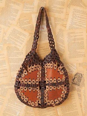 Namaste Vintage Leather Purse