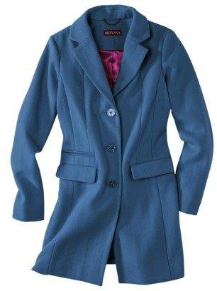 Merona Womens Classic Long Wool Coat -Assorted Colors