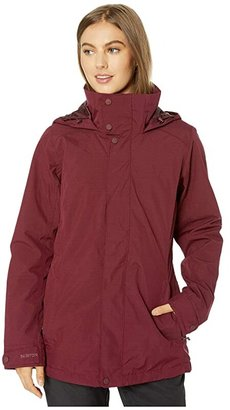 Burton Jet Set Jacket (Port Royal Heather 1) Women's Coat