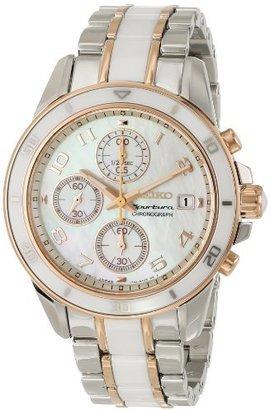 Seiko Women's SNDX54 Stainless Steel Watch $340 thestylecure.com