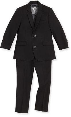 Appaman Boys' Two-Piece Mod Suit, Black, 2T-14 $155 thestylecure.com