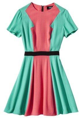 Prabal Gurung For Target® Short-Sleeve Dress -Calypso Coral