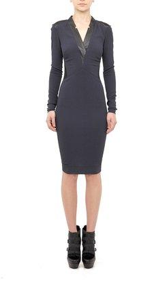 Nicole Miller Power Crepe Dress
