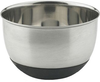 Vinaroz Stainless Steel Collection 5 qt. Mixing Bowl with Silicon Base
