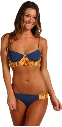 Mara Hoffman Beaded Bustier Bikini