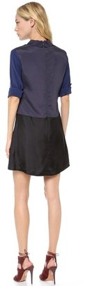 Charles henry Collared Dress