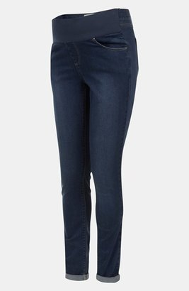 Topshop 'Leigh' Maternity Skinny Jeans (Short)