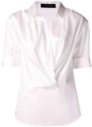 Thakoon cuffed shirt blouse