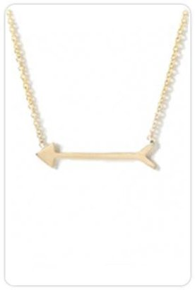 Maya Brenner Straight as an Arrow Necklace