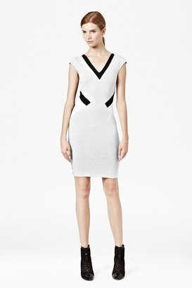 French Connection Sarah Stretch Panelled Dress