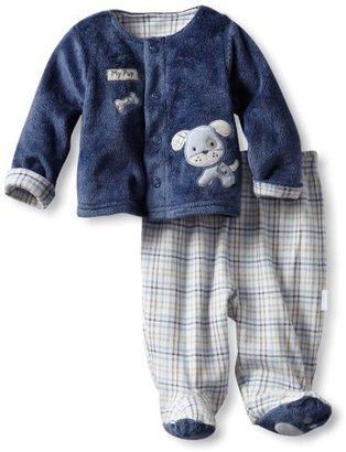 Vitamins Baby boys Newborn 2-piece Superplush Pant Set