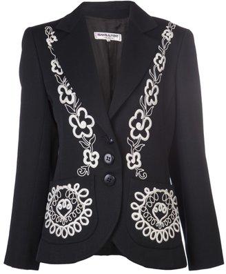 Yves Saint Laurent Vintage embroidered blazer