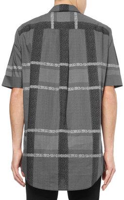 Alexander Wang Oversized Printed Cotton Shirt