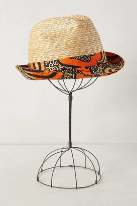 Anthropologie Tropicalismo Trilby Hat