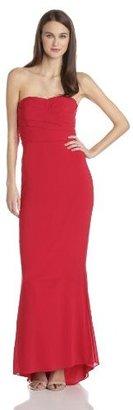 Jill Stuart Jill Women's Stretch Silk Chiffon Evening Dress