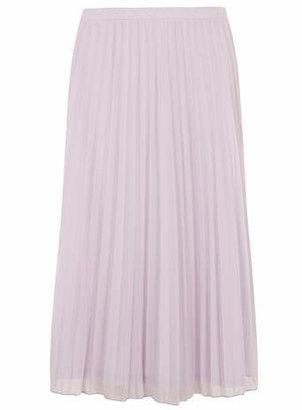Dorothy Perkins Mesh Lavender Long Length Midi Skirt
