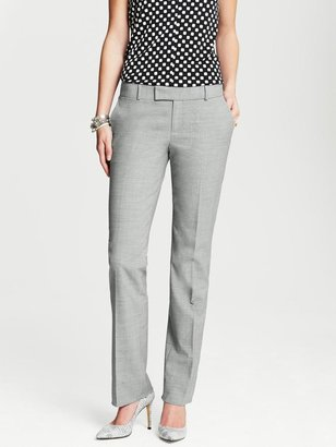 Banana Republic Martin-Fit Grey Lightweight Wool Straight Leg