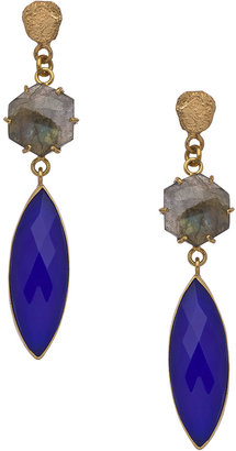 Marquis Kanupriya Multi Gemstone Drop Earrings