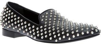Giacomorelli studded slip on shoe