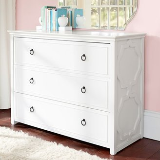 Pottery Barn Teen Elsie 3-Drawer Wide Dresser