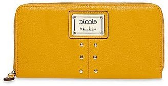 Nicole Miller nicole by Randy Studded Zip-Around Wallet