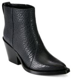 Acne Studios Donna Leather Cowboy Booties