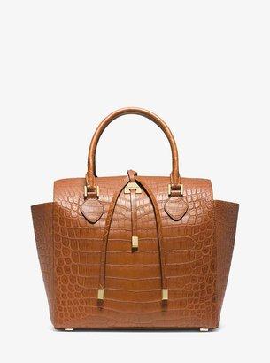 Michael Kors Miranda Crocodile Large Tote Bag