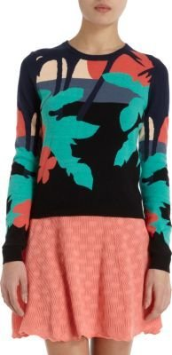 Opening Ceremony Tropical Knit Sweater