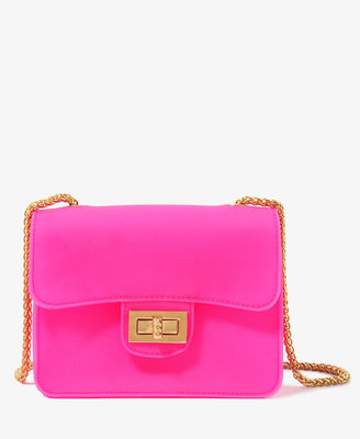 Forever 21 Neon Chain Crossbody