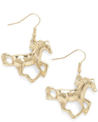 Colt Your Horses Earrings