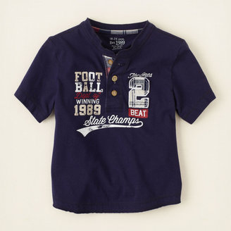 Children's Place Sporty henley