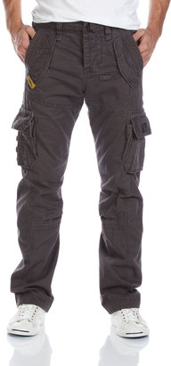 Superdry Cargo Pants, Charcoal