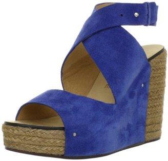 See by Chloe Women's Cross Strap Open-Toe Platform Wedge Sandal