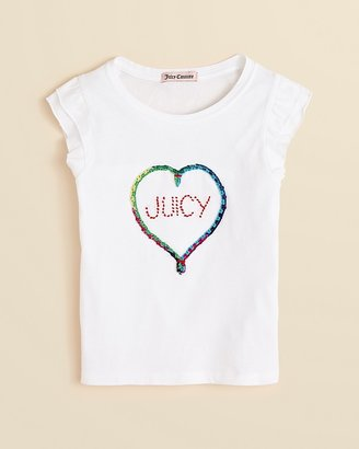 Juicy Couture Girls' Friendship Tee - Sizes 2-5