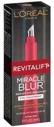 L'Oreal Paris Revitalift Miracle Blur Instant Eye Smoother Eye Treatment $25.99 thestylecure.com