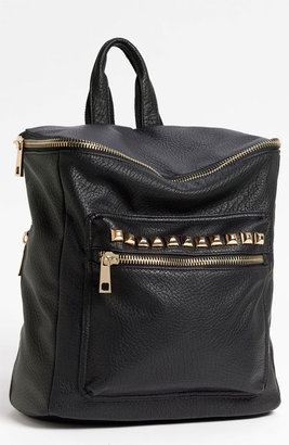 BP Studded Faux Leather Backpack