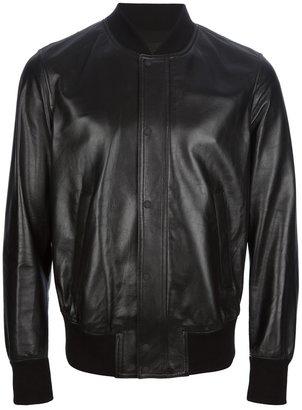 Neil Barrett sharkskin bomber jacket