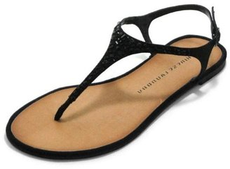 Chinese Laundry Sparkle T-Strap Sandal