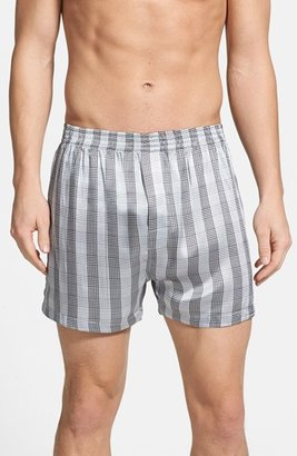 Men's Majestic International Knights In Shining Silk Boxers $50 thestylecure.com