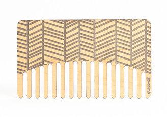 go-comb Herringbone Comb Pine Gray