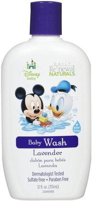 Green Baby New Windsor Disney Baby Daily Renewal Baby Wash - Lavender & Chamomile - 12 oz